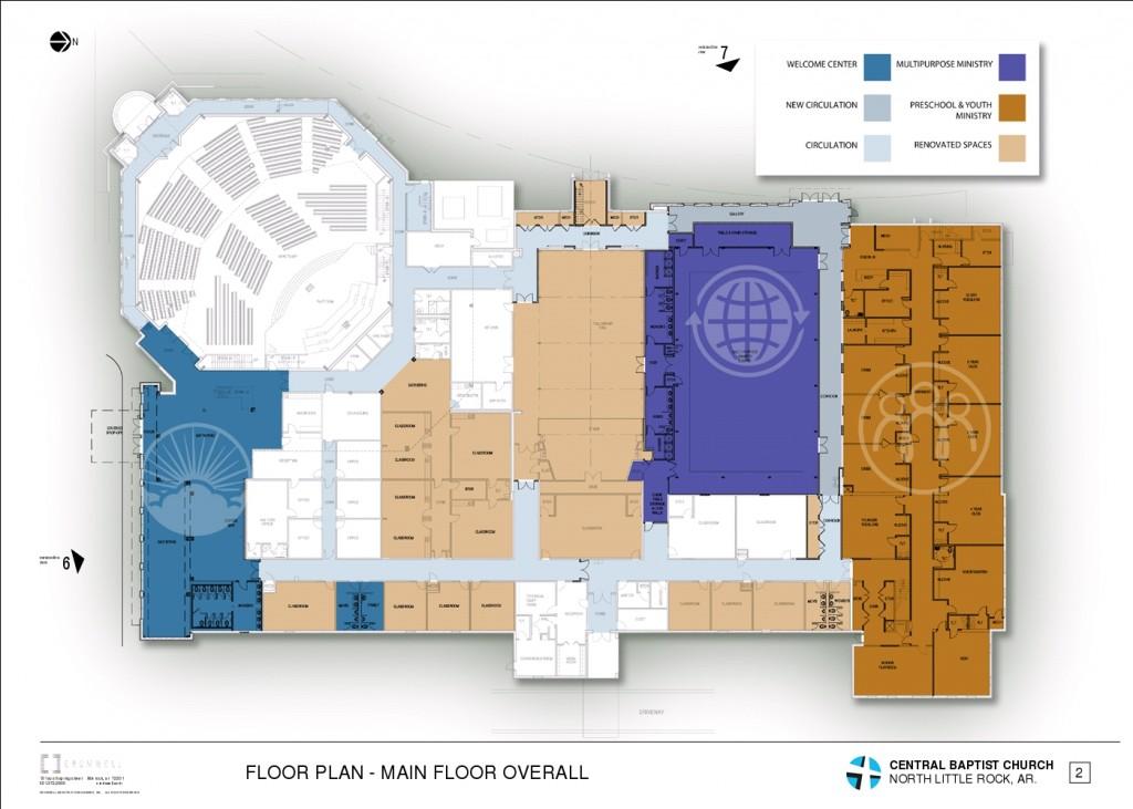 3 - FLOOR PLAN - MAIN FLOOR OVERALL